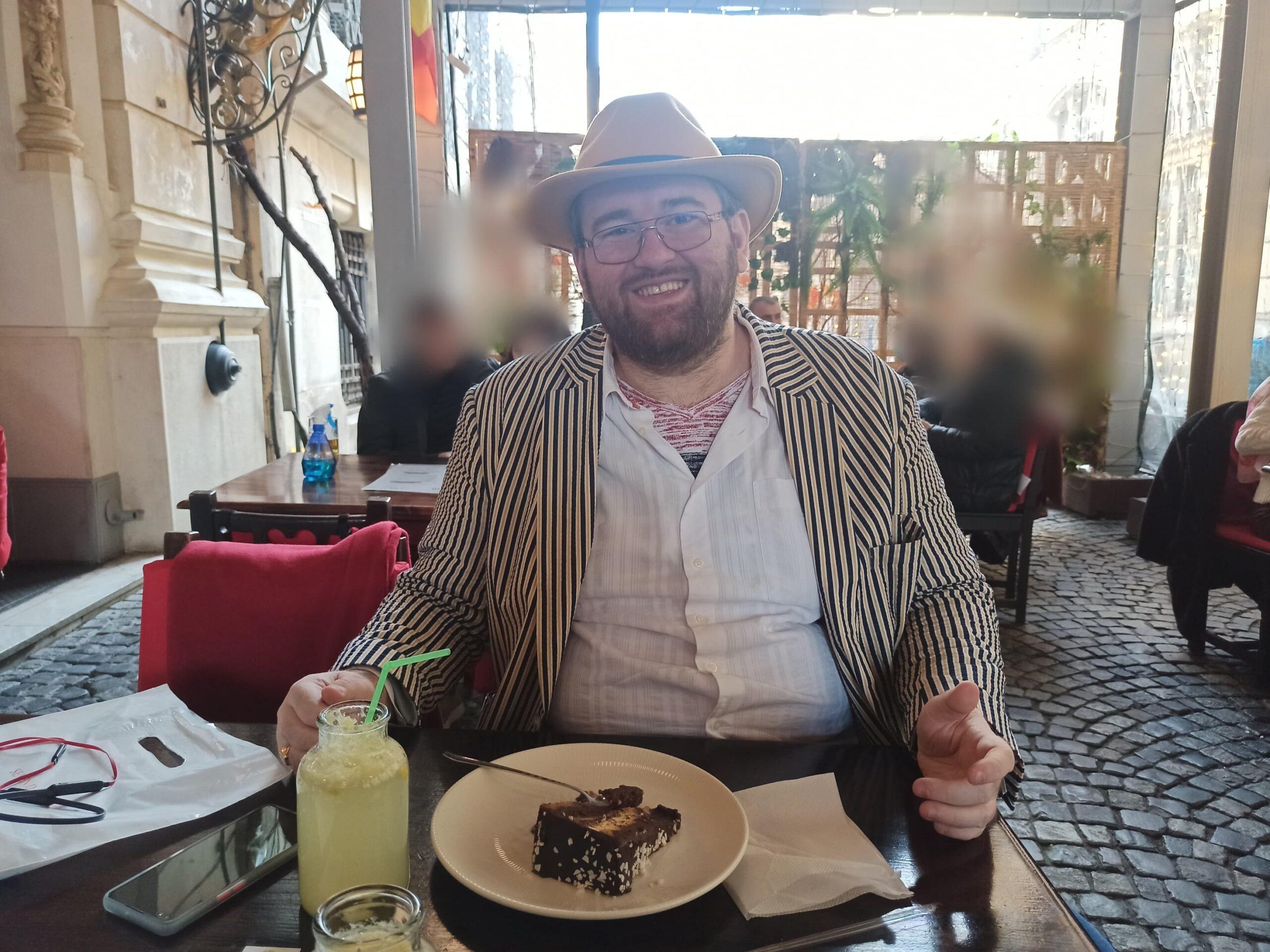 Emil Calinescu desert Caru cu bere