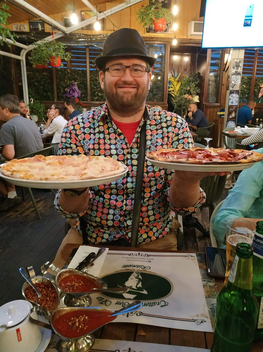 De ce ne place pizza atat de mult Emil Calinescu don vito